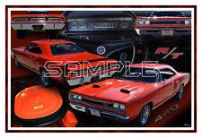 1969 Dodge Coronet RT Poster Print