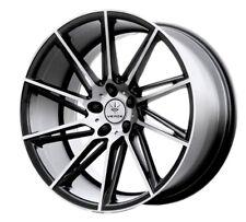 19x9.5 Verde Quantum 5x114.3 +20 Black Rims Fits Honda Accord 2008-2012