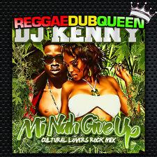 DJ Kenny - Cultural Lovers Rock, Mi Nah Give Up Mixtape. Reggae Mix CD.