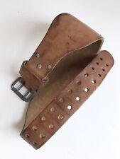 "Vintage Altus Weightlifting Belt, Medium (For Waists 28""-34"")"