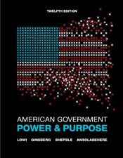 American Government by Lowi, Ginsberg, Shepsle, Ansolabehere 12th Ed (Hardcover)