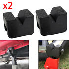2x Rubber Axle Jack Pad Jacking Stand Pads Adapter Frame Rail Protector Lifting