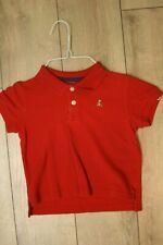 Gap (no label) Boys red polo T size 2T. Guc