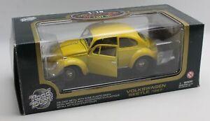 Road Tough Volkswagen Beetle 1967 1:18 Diecast Model Car