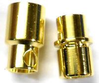 8151 RC 3.5 mm Gold Banana Bullet Connecteur fils 10 cm
