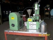 USED DRAISWERKE STAINLESS STEEL GRANULATOR MILL