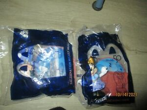 2 SET MCDONALDS OF 2021 DISNEY 50TH ANNIVERSARY #1 MICKEY MOUSE #9 MINNIE MOUSE