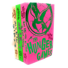 The Hunger Games 3 Books Set Collection Suzanne Collins - Catching  Fire ....