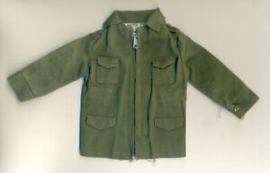 VINTAGE ACTION MAN 1st Edi. COMBAT SOLDIER JACKET WITH DRAW STRING