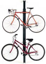 Gear Up 2 BIKE Bicycle GARAGE Storage Floor-to-Ceiling RACK ~ ALUMINUM ~ Black