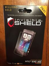 Zagg Invisible SHIELD HTC EVO 3D I Have Used These For Many Screens!!!