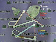 NEW REAR PASSENGER FOOTREST FOOT PEG HANGER MOUNTS FITS HONDA XR250 XR400 XR600