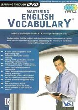 Mastering English Vocabulary (5 DVD Pack)