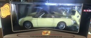 Maisto Premiere Edition Showroom Display Thunderbird Show Car 1:18 New In Box