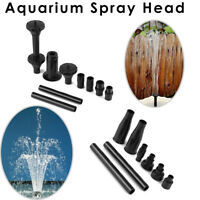 Decor Nozzle Fish Tank Aquarium Landscape Garden Fountain Sprinkler Spray Heads