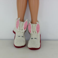 Stampato Knitting istruzioni-ALICE'S WHITE RABBIT Stivali Adulti knitting pattern