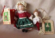 HALLMARK 1985 CHRISTMAS  Ornaments (2)