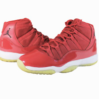 Nike Air Jordan 11 XI Retro BG GS Youth Win Like 96 Gym Red 378038-623 Size 7Y