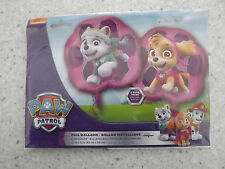 PAW PATROL PINK SKYE AND EVEREST XL FOIL BALLOON 25INS DOUBLE SIDED BIRTHDAY