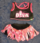 "TEDDY BEAR Costume DIVA GIRL Outfit CLOTHES Fit 14""-18"" Build-a-bear !!! NEW !!!"
