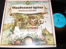 GAUDEAMUS IGITUR Studentenlieder / DDR LP 1984 AMIGA 845277 (Ag511/01/84/A)