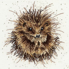 BOTHY THREADS AWAKENING HEDGEHOG BY HANNAH DALE COUNTED CROSS STITCH KIT XHD15