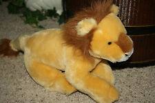 "Tom's Toys International Plush Lion Realistic Stuffed 21"" Toy     A4"