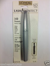 L'Oreal Lash Architect 3-D Mascara TRUE BROWN #625 WASHABLE NEW & SEALED.