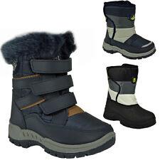 **KIDS BOYS GIRLS WINTER SNOW MOON MUCKER WATERPROOF WELLIES BOOTS SHOE NEW BOOT