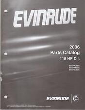2006 EVINRUDE OUTBOARD MOTOR 115 HP D.I.  PARTS MANUAL (973)