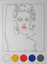 Werner Berges - DÜSSELDORFER SCHÖNHEIT - 2002, Pop Art Grafik