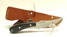 Bark River Knives Fingerling, CPM 3V, Black Canvas Micarta, 1st Production Run