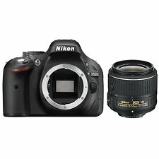 Nikon D5200 DSLR Camera with 18-55mm VR II Lens (Black)!! BRAND NEW!!
