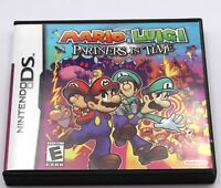 Mario & Luigi Partners in Time Nintendo DS Game NDS Lite DSi 2DS 3DS XL a F01