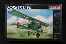 YF046 MONOGRAM 1/48 maquette avion 74005 Fokker D VII 37 Pièces Skill 2