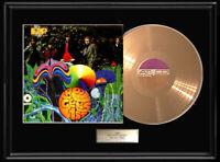 BEE GEES DEBUT  SELF TITLED FRAMED LP DISC GOLD METALIZED RECORD VINTAGE LP