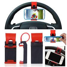 Supporto auto compatto universale Volante Sterzo per Samsung Galaxy S3 S4 Mini