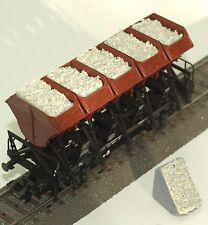 043 H0 Ladegut für Märklin Muldenkippwagen 46355, 4635, 46353, Quarzsand, OVP