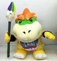 New Rare Super Mario Bros Plush Toy Bowser Koopa with Pen Stuffed Doll Soft Kids