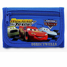 Disney Car Blue Wallet