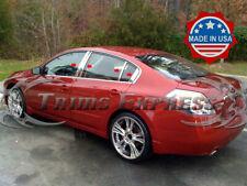 Fit:07-2012 Nissan Altima 4Dr Sedan 8Pc Chrome Pillar Post Stainless Steel Trim