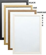 A1 A2 A3 A4 A5 Black Photo Frame White Picture Frame Oak Poster Frames DarkOak