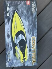 Sharkool Remote Control Boats H106 Rc Self Righting Racing Boats, Yellow