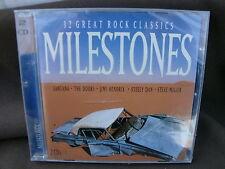 Milestones - 32 great Rock Classics  2 CD Sigillato Nuovo