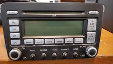 OEM Volkswagen P/N 28119146 Delphi CD/MP3/AM/FM Head Unit - Tested And Working