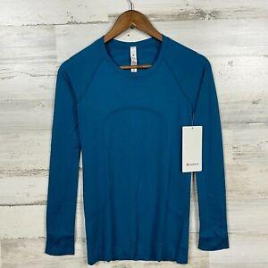 NWT Lululemon Womens Light Capri Capri Swiftly Tech Long Sleeve 2.0 Shirt