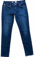 AG Adriano Goldschmied Sz. 28R Stilt Cigarette Leg Low Rise Medium Wash Jeans