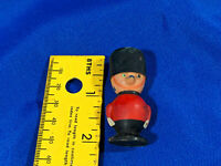 "Toy Dog Beefeater British Soldier Hong Kong VTG Figure 2"" Rare 1960s"
