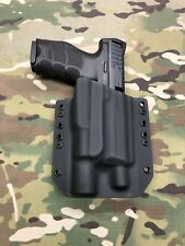 Black Kydex Light Holster for H&K HK VP9 Threaded Barrel Surefire X300 Vampire