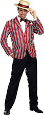 Morris Costumes Men's Roaring 20S Gangster Good Time Charlie Suit 2XL. RL9838XXL